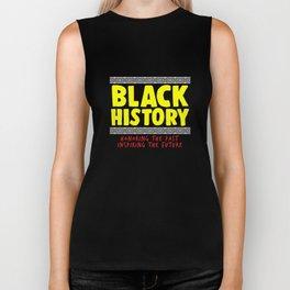 Black History Month African Pride Apparel Gift Biker Tank