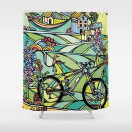 Ride or Die Shower Curtain