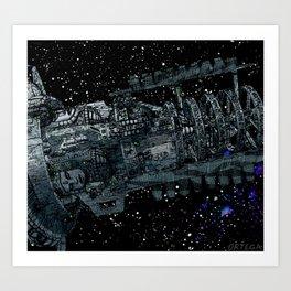Kronos Colony Ark. view 02 Art Print