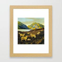 The Good Shepherd, Lake Tekapo Framed Art Print
