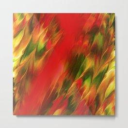 Melting in red / Sciogliersi nel rosso Metal Print
