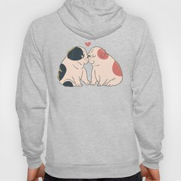 English Bulldog Kisses Hoody