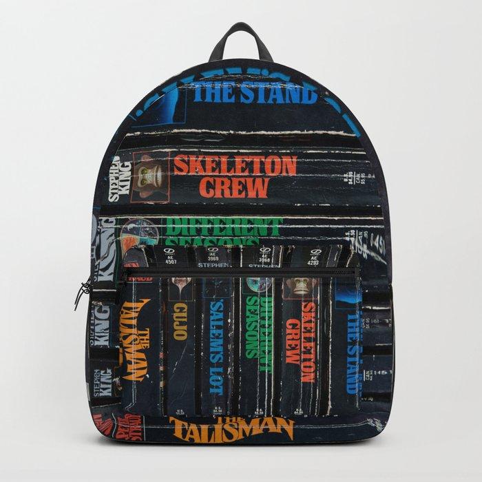 Stephen King Well-Worn Paperbacks Backpack