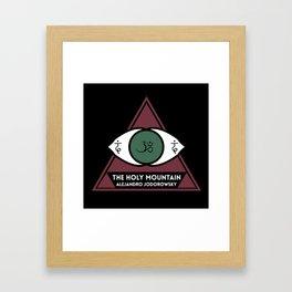 The Holy Mountain by Alejandro Jodorowsky Framed Art Print