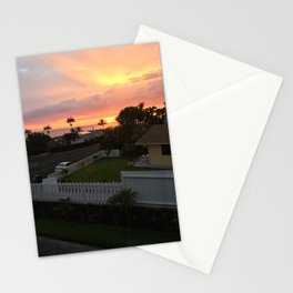 Setting Sun 2 Stationery Cards