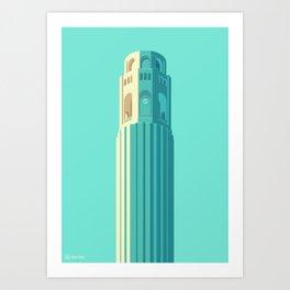 San Francisco Towers - 02 - COIT Tower Art Print