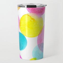 Confetti paint Travel Mug