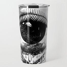 Allergy art crying drawing eye Travel Mug