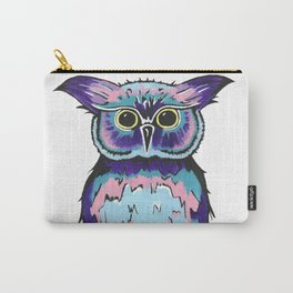 Small Scrappy Owl Carry-All Pouch