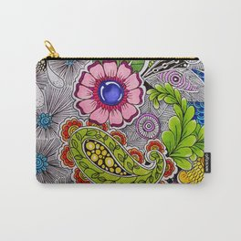 Paisleys & Petals Carry-All Pouch