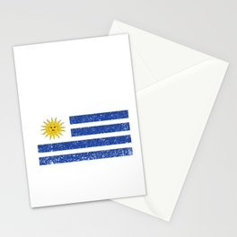 Uruguay Country Uruguayan Flag Vintage Pride Gift Stationery Cards