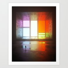 Color Block Art Print