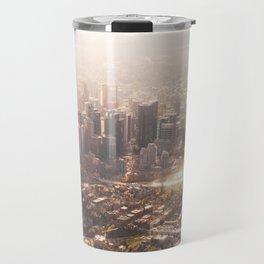 Autumn Cityscape Travel Mug