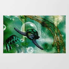Underwater world Rug