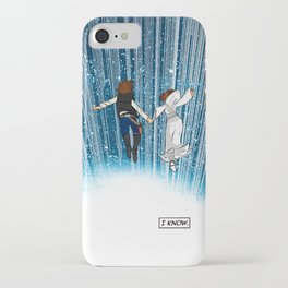 The Captain and the Princess iPhone Case