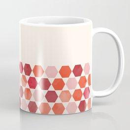 Red Tiles Coffee Mug