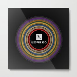 Nespresso icon Metal Print