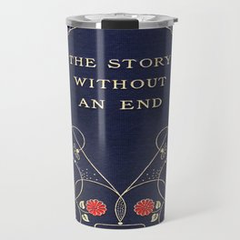 The Story Without An End Book Cover Travel Mug