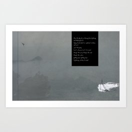 Through the Storm Art Print