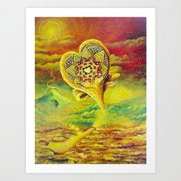 The Genie of Dragon Lake Art Print