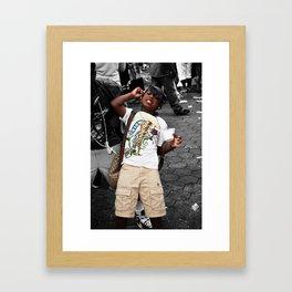 Children of ATL Framed Art Print