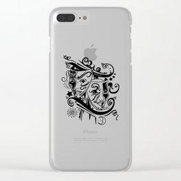 Zodiac - Gemini Clear iPhone Case