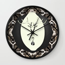 Deer T tile 7 Wall Clock