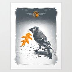 Jaybird Art Print
