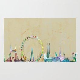 London Skyline Rug
