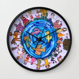 We are all one being Wall Clock