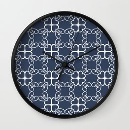 Love Heart Connection Wall Clock