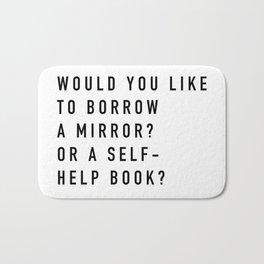 Borrow a Mirror Bath Mat