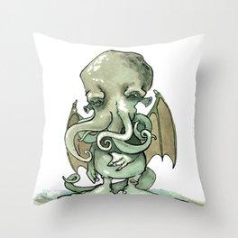 Cthulhu Mythos Throw Pillow