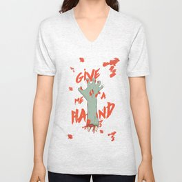 Give me a hand Unisex V-Neck