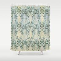 phil jones Shower Curtains featuring Phil my Kraken// by Bobo1325