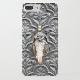Elephant rider iPhone Case