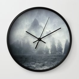 guardians of lonely mountain Wall Clock