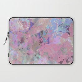 Pink Blush Abstract Laptop Sleeve