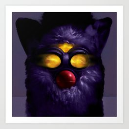 Furby Grace Jones – Bulletproof Heart Art Print