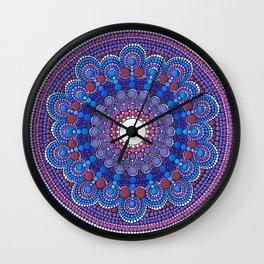 Jewel Moon Wall Clock