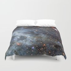 Magellanic cloud Duvet Cover