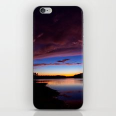 Sunset Over The Lake iPhone & iPod Skin