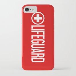 Lifeguard iPhone Case
