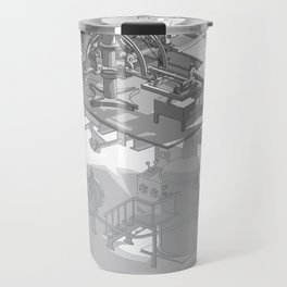 Fully Automatic Steam-Powered Screen Printing Machine Travel Mug