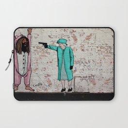 Street Art London Queen Thug Urban Wall Graffiti Artist Prolifik Laptop Sleeve