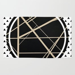 Crossroads - small triangle Rug