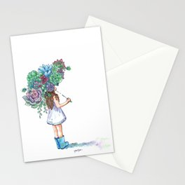 You Grow, Girl Stationery Cards