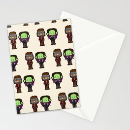 I will not succumb to your pelvic sorcery Stationery Cards
