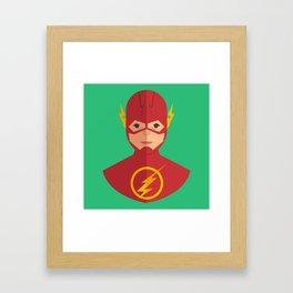 flat for flash Framed Art Print