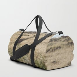Oregon Dune Grass Adventure - Nature Photography Duffle Bag